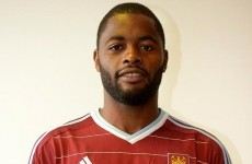 Barcelona's Alex Song is joining West Ham on a season-long loan