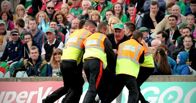 VIDEO: Ugly scenes as fan invades pitch during Mayo-Kerry clash