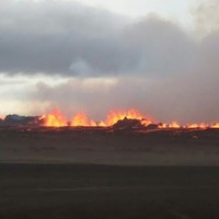 Iceland issues red alert after new eruption near volcano