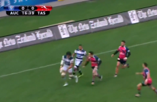 All Black Steven Luatua shows why forwards shouldn't kick