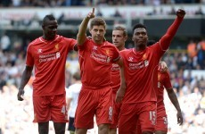 Liverpool in control as Sterling, Gerrard and Moreno strike