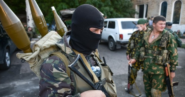 Putin calls for Ukraine peace talks - but battles continue