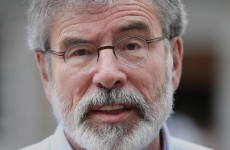 "Gerry Adams wants Dublin and London to counter ""anti-agreement axis within unionism"""