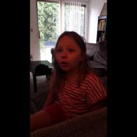 Little girl refuses to accept that Hello Kitty isn't actually a cat