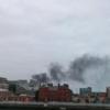 Fire brigade at the scene of blaze in inner-city Dublin
