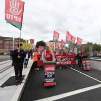 Gallery: Greyhound workers march in Dublin as LRC invite them to talks