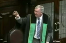 """You won't say quiet to me, sir"": Check out this 2007 clip of Enda clashing with a furious Ceann Comhairle"