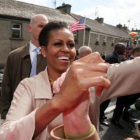 "Michelle Obama feels ""connection"" with Moneygall"