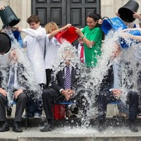 A minister did the Ice Bucket Challenge today...any guesses?