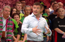 Brian O'Driscoll's BT Sport debut featured a masterclass in breakdown technique