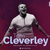 17 hours after the transfer window closes, Aston Villa confirm Cleverley signing