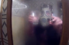 Dad pretty much scars his son for life with a simple shower prank
