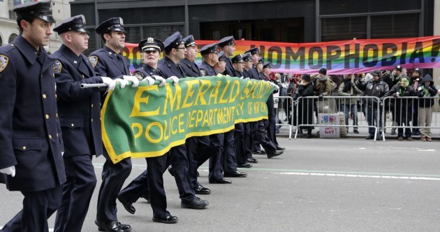 Gay group to march in New York St Patrick's Day parade for the first time