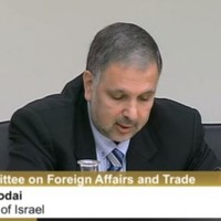 """I'm sorry to disappoint you."" - Israeli ambassador tells David Norris he's going nowhere"