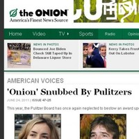 Celebrities and a cat campaign for a Pulitzer for The Onion