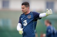Shay Given will start for Ireland tonight after two years out