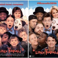 The cast of the Little Rascals re-created the poster and it is AMAZING