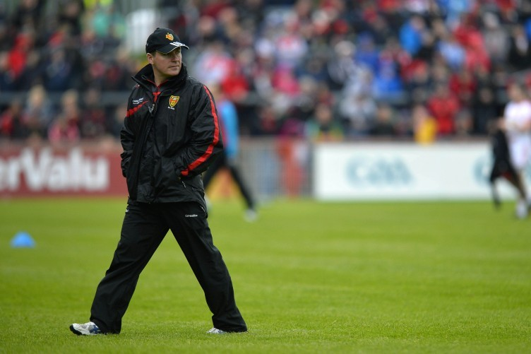 James McCartan has managed the Down senior footballers over the past five years.