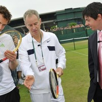 You can't be serious: Rory McIlroy meets tennis aces at Wimbledon