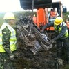 Wreckage of WWII Spitfire raised from Donegal bog