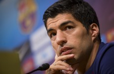 Suarez unhappy with cheerleader role but accepts responsibility for his actions