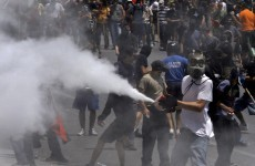 Tear gas and violence in Athens as Greeks fight austerity