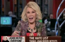 10 of Joan Rivers' greatest celebrity zingers