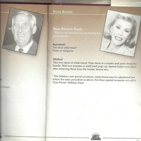 Joan Rivers once contributed a 'recipe' to a Irish charity cookbook