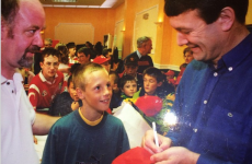 When a young David Meyler met JBM... It's the sporting tweets of the week*