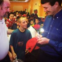 When a young David Meyler met JBM... It's the sporting tweets of the week*