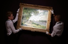 Monet landscape found in suitcase art collector brought to hospital