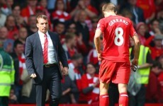 Gerrard 'blown away' by Liverpool boss Rodgers
