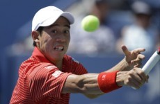 Nishikori stuns Djokovic, Cilic overwhelms Federer to set up shock US Open final
