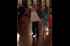 Kid killing it on wedding dance floor PLUS amazing commentary