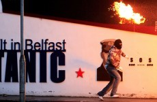 Six arrested after Belfast riots