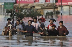"Indian and Pakistan floods becoming ""national emergency"" as hundreds die"