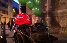Someone stuck a Cork jersey on Molly Malone last night...