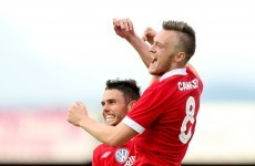 Cawley inspires Sligo to victory over Bohs