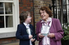 Brave teenager who completed his Junior Cert while battling leukemia receives award