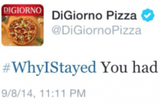 Pizza brand accidentally tweets joke about pizza on domestic abuse hashtag