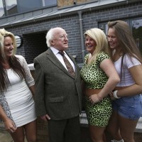 President Higgins opens new housing scheme named after 1916 rebel female doctor