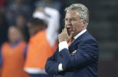Dutch boss Hiddink 'livid' after calamitous defensive error gifts Czechs three points