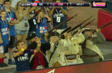 MLS teen star celebrates goal... with a four-gun musket salute