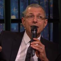 Jeff Goldblum sings the Jurassic Park theme tune