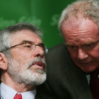 "Gerry Adams wants to see more all-island ""joinedey-upness"" in Sinn Féin"