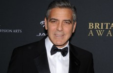 Calm down. George Clooney isn't appearing in an episode of Downton Abbey--just a skit