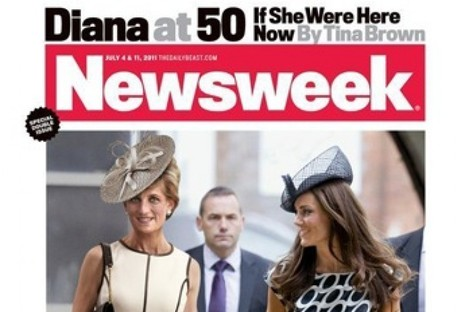 Newsweek's Diana at 50 cover.