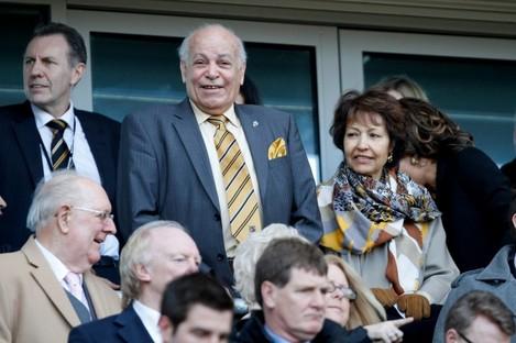 Hull City owner Assem Allam.