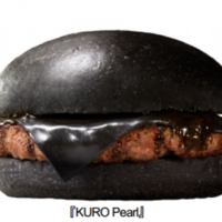 Burger King releasing a 'black burger' in Japan with bamboo charcoal cheese and squid ink ketchup