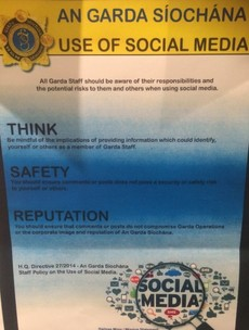 Gardaí investigated for behaviour on personal social media accounts
